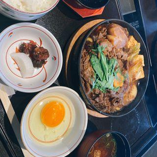 すきやき定食 (大)(木曽路 江坂店 (キソジ))