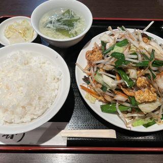 日替わり定食B:肉野菜炒め定食