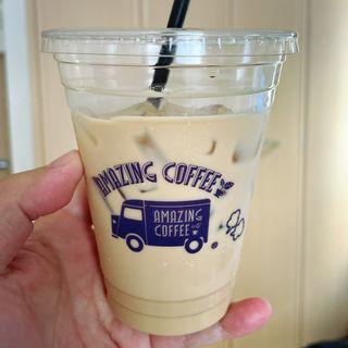 アイスカフェラテ(アメージング コーヒー)