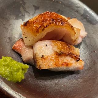 がんこ赤鶏の炙り(焼き鳥 うま中)