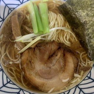 中華そば(あっさり鶏出汁)