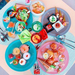 デザート&ランチブッフェ(ANAクラウンプラザホテル大阪)