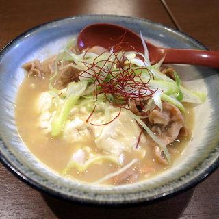 自家製 白味噌 もつ煮(食堂 高ひろ)