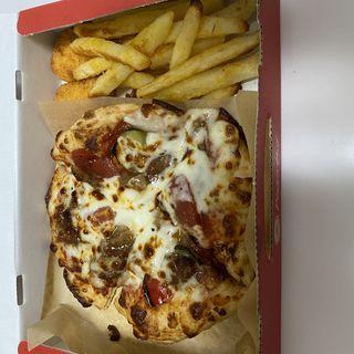 【MY BOX】おひとりさまピザセット グランBBQ