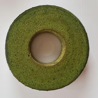 鎌倉焼菓 抹茶バウムクーヘン ホワイトチョコレート