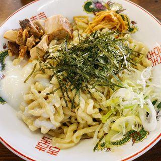 油そば(太平楽 六丁の目店)