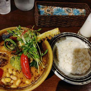 季節の旬菜カレー