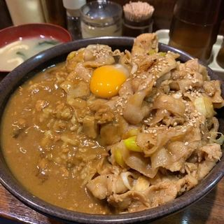 丼達カレー