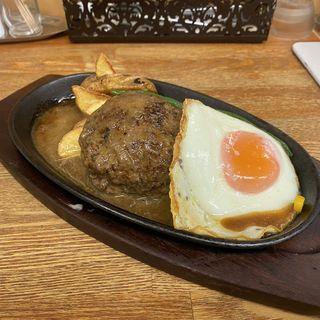 ハンバーグ(和風ソース)(ハンバーグレストラン まつもと )