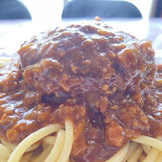 スパゲッティハンバーグ(キッチンこば )