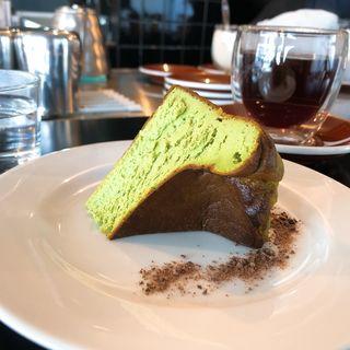 抹茶のバスクチーズケーキ(ザ コーヒーテーブル (THE COFFEE TABLE))