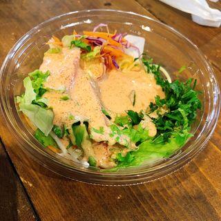 明太クリームのパスタサラダ