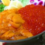 ウニイクラ丼定食