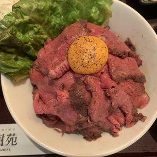 ローストビーフ丼(大樹苑 西新宿店Part1)