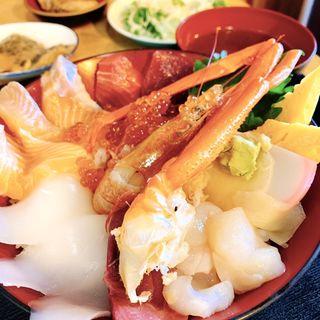 びっくり海鮮丼(土浦魚市場 )