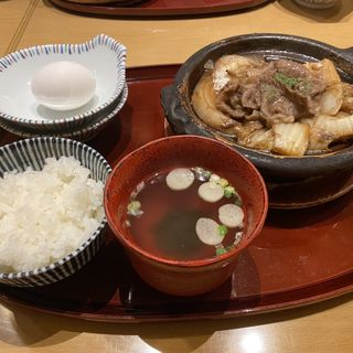 すき焼き(ふるさとバル ゆら蛍)