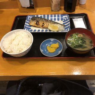 焼魚定食(姫路食堂)