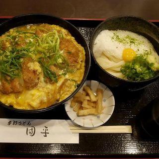 ヒレカツ丼セット(手打ちうどん 団平 (だんぺい))