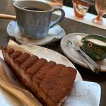 チョコレートケーキセット(貴船ギャラリー )
