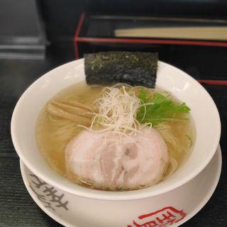 ゆず塩ラーメン(麺屋三味 )