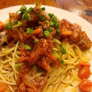 鰯のマリネポルトガル風入り冷製スパゲティ(ラ・タベルナ )