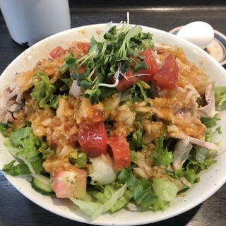 サラダ棒棒鶏麺