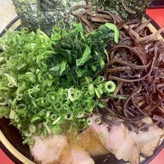 チャーシューメン(きくらけ、九条ネギ)