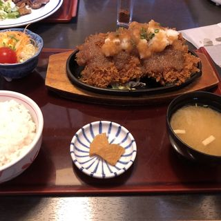 おろしチキンカツ定食