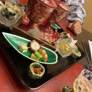 石川三大美味会席