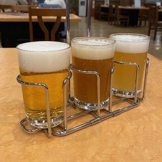 浩養園地ビール飲み比べセット(ゴールデンエール、ダークヴァイツェン、ヴァイツェン)