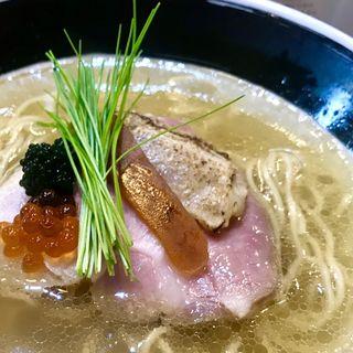 のどぐろ煮干白醤油そば(麺処しろくろ)