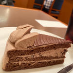チョコレートケーキセット