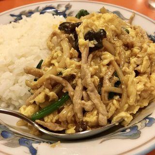 木須肉烩飯