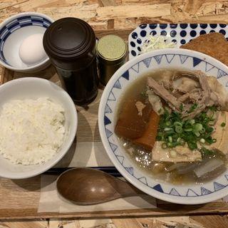 大阪ごちとん豚汁(ごはんセット)(野菜を食べるごちそうとん汁 ごちとんホワイティうめだ店)