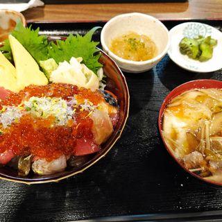 海鮮丼(ごっつり 浅草橋店)