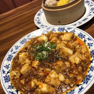 麻婆豆腐+点心