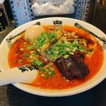 味玉カラシビ味噌拉麺