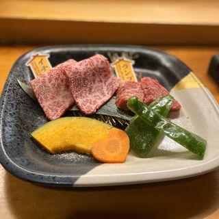 近江牛お任せ2種(イチボ、ランプ)