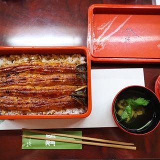 大井川共水鰻のうな重