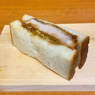 熟成三元豚のロースカツサンド
