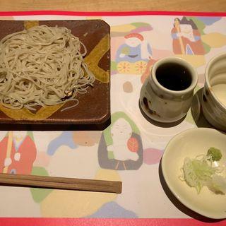 蕎麦(コース料理)