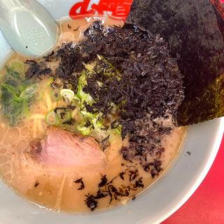 醤油ラーメン+黒ばら海苔