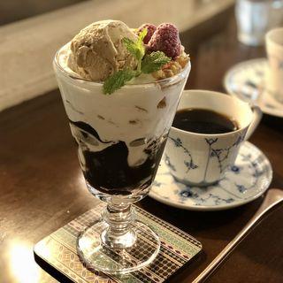 コーヒーゼリーパフェ(ほの香 )