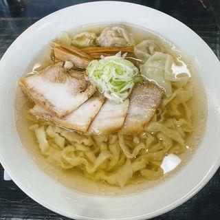 塩らぁ麺(手打麺)