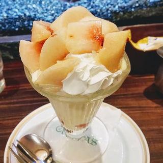 桃のクープ