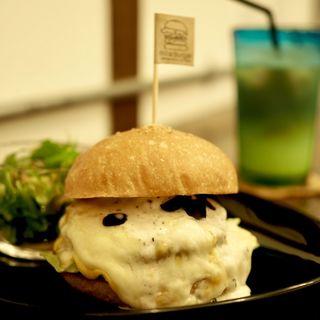 TMSC(トリュフムーススーパーチーズ)バーガー