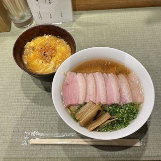 鴨コンフィ麺to小親子丼