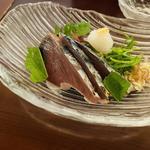 季節のヒレカツ定食(鰹のタタキ)