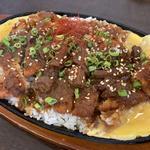 鉄板味噌カツ丼