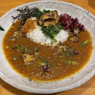 炙りしまちょう鯖出汁カレー(限定)